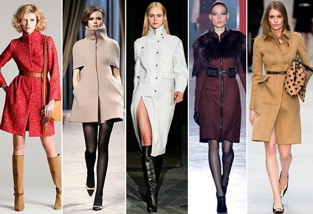 Модные в этом сезоне пальто